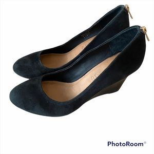 Aldo shoes, black with a 3.5 inch heel. Size 9